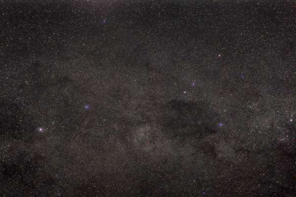 Southern Cross Milky Way